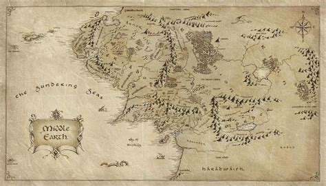 tolkien middle earth map wallpaper map middle earth paper lord of the