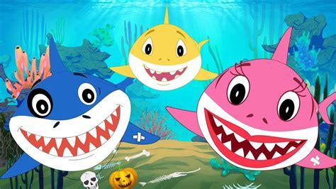 baby shark halloween baby shark halloween family song doo doo doo sharks for