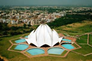 Who Built Lotus Temple Lotus Temple India Feel The Planet