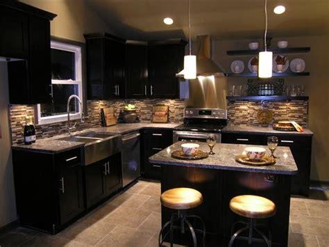 light colored tile backsplash ideas with dark cabinets light colored tile floor dark cabinets grey tan