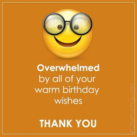 Thank You For Happy Birthday Wishes 25 Best Ideas About Birthday Thank You Message On Pinterest Birthday Thanks Message Happy