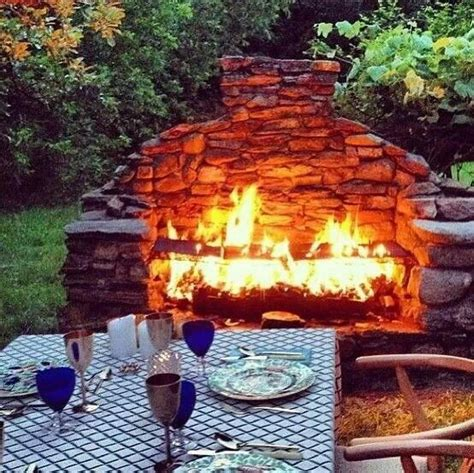 backyard fireplace diy diy backyard fireplace for the home