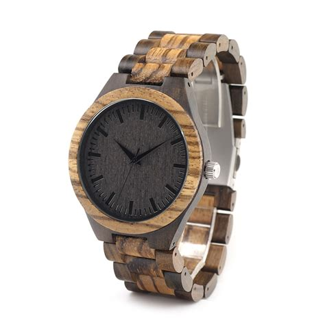 Bobo Bird 2017 Two Tone Wooden For Quartz Brand Design 2017 bobo bird wooden watches wood wristwatches wooden