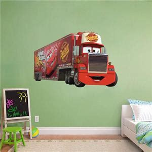 mack truck cars disney decal removable wall sticker home