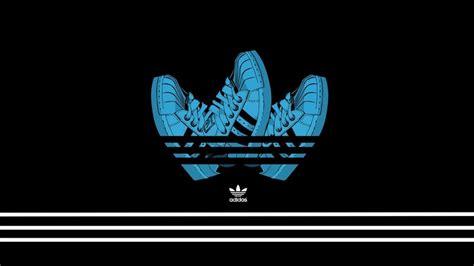 adidas animated wallpaper adidas creative logo design hd wallpaper wallpaperfx