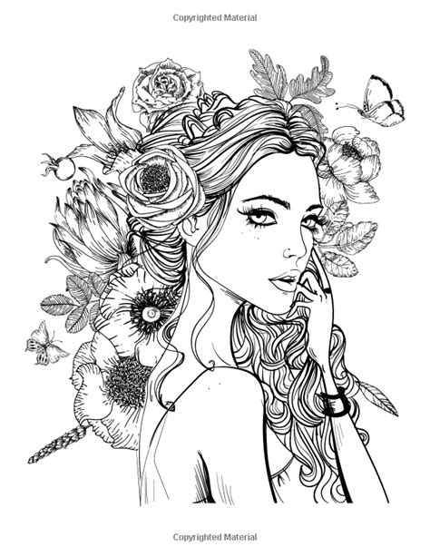 Coloring Pages Of People S Faces | people faces coloring pages for adults coloring pages