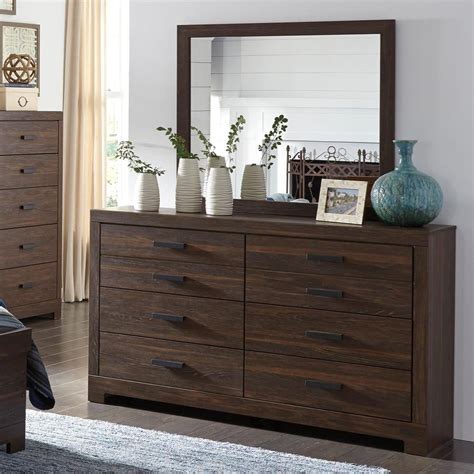 rustic bedroom dresser signature design by arkaline modern rustic dresser