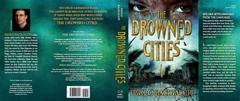 book report book jacket the drowned cities