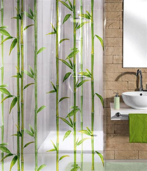 duschvorhang mit bleiband kleine wolke duschvorhang 187 bamboo 171 breite 180 cm otto