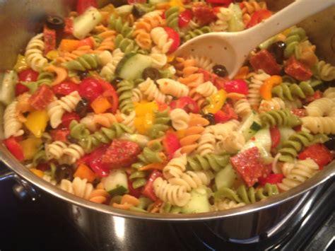 pasta salad ingredients ingredients for pasta salad