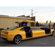 Australians Turn Chevrolet Camaro Into Gullwing Stretch Limousine  GM