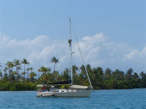 living on a boat maintenance a bit of work east of the equator m m