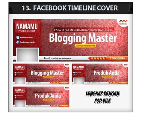 membuat halaman facebook yang menarik membuat banner yang cepat bagus dan menarik psddesain net