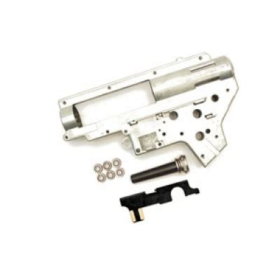 Sparepart Airsoft Shs Selector Plate Gearbox V2 Atau Gearbox V3 ver 2 silver gear box shell only