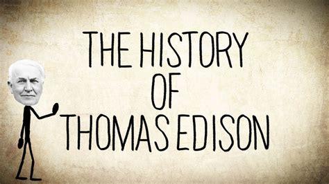 text biography thomas alva edison thomas edison wallpaper 1280x720 65200