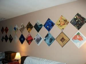 how to hang stuff without damaging walls how to hang records on the wall without damaging the