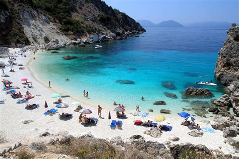 sand beaches lefkada beaches art blue villas