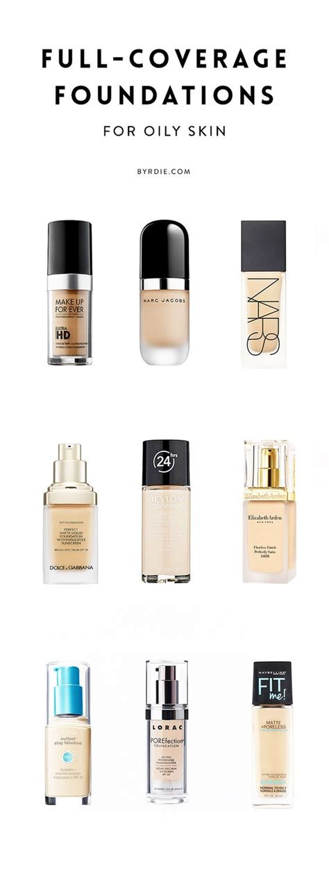 what is the best full coverage foundation for 2015 foundation for oily skin best foundation and oily skin on