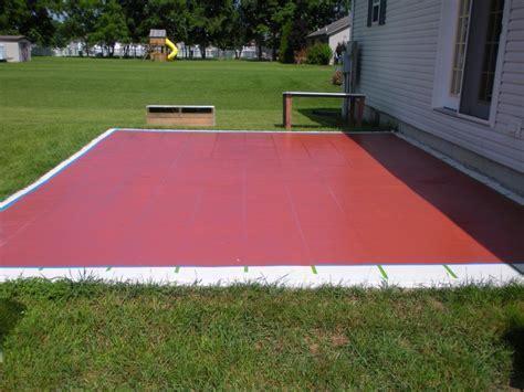 Outdoor Patio Paint Concrete Ideas How To Paint A Concrete