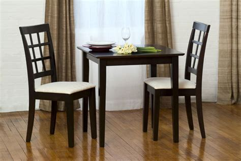 3 piece dining set small spaces