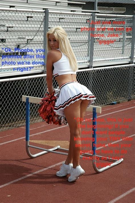 cheerleader mini skirt bent over 104 best images about tg captions cheer on pinterest