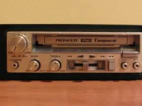 pioneer tv deck pioneer component car stereo deck kp 77g a roma kijiji