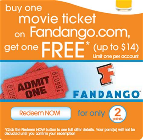 printable movie tickets coupons tropicana rewards buy one get one free fandango tickets