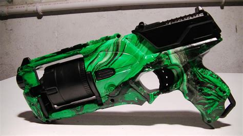 spray paint nerf how to swirl paint a nerf gun strongarm doovi