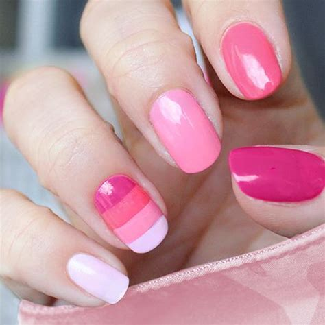 Your Nail Type by 40 Stylish Pink Nail Ideas Style Motivation