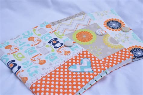 quilted composition book cover