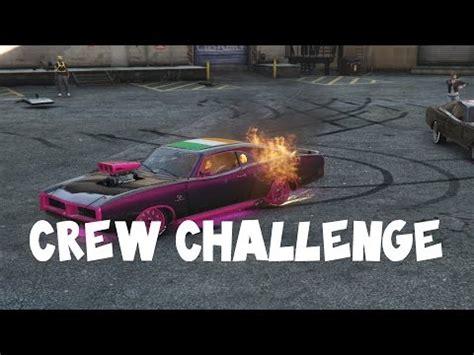 gta crew challenges gta crew challenge ps4