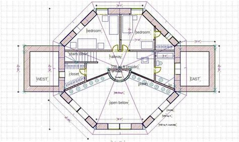 octagon house plan octagon house plans inspiration house plans 29892