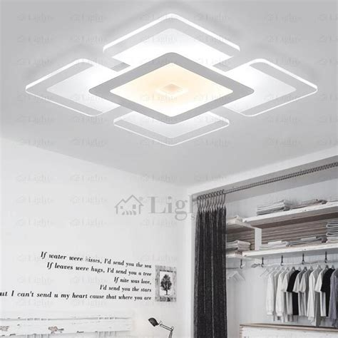 led kitchen light led kitchen lights ceiling square shaped