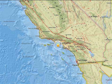 earthquake los angeles magnitude 3 3 earthquake strikes near los angeles
