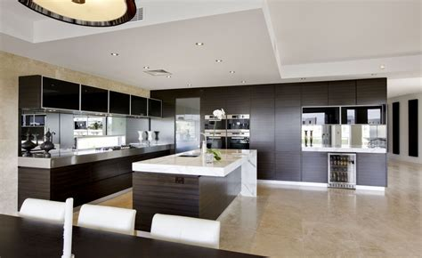 custom design kitchens modern mad home interior design ideas beautiful kitchen