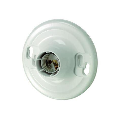 leviton light fixtures leviton plastic keyless l holder r50 08829 cw4 the home depot