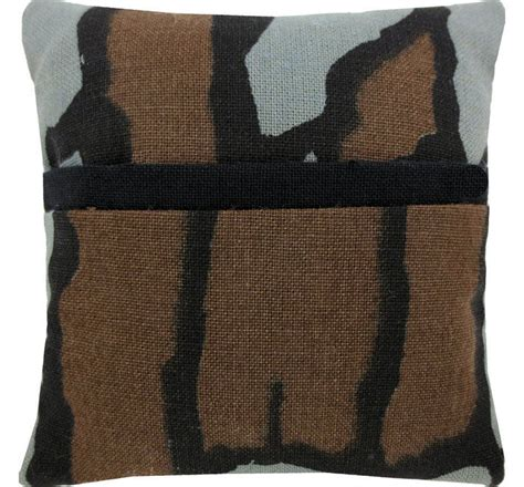 Black And Brown Pillows by Tooth Pillow Brown Grey Black Camo Print Fabric