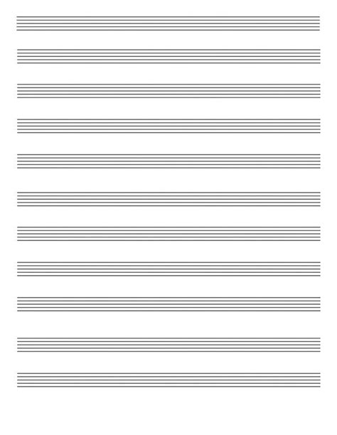 printable staff paper for drums blank sheet music paper to print blank space sheet music