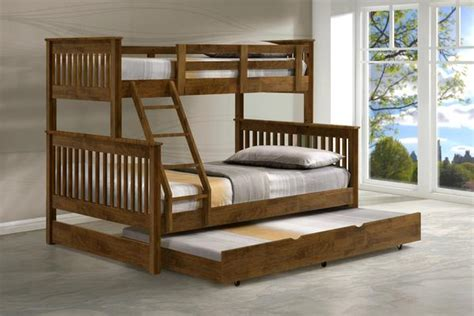Bunk Beds Singapore Americana Bunk Bed With Trundle Picket Rail Singapore S Premium Furniture Retailer