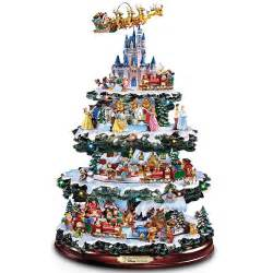 disney lighted musical christmas tree tabletop sculpture