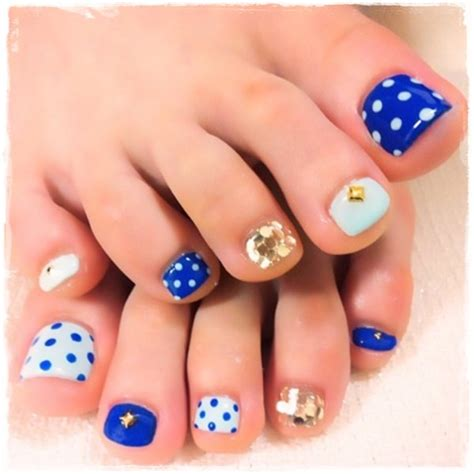 Toe Nail Designs by 45 Childishly Easy Toe Nail Designs 2015