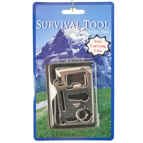 survival credit card credit card survival tool