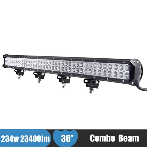 36 inch led light bar 234w 36 inch led offroad light bar 4x4 awd 4wd suv car