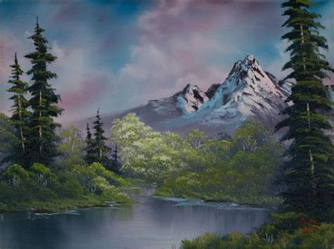 bob ross painting auction 510 best images about artists bob ross on