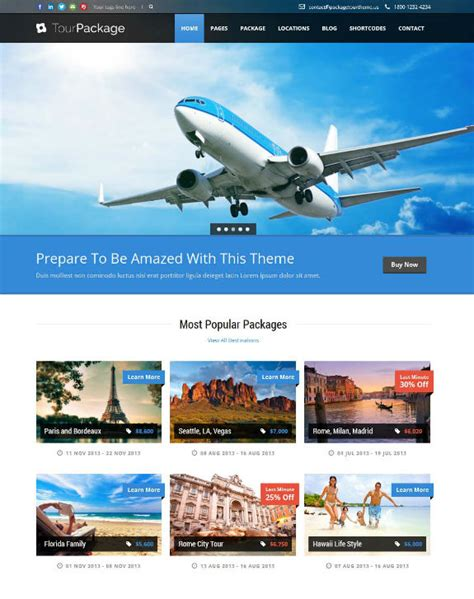 40  Best Travel WordPress Themes for Online Travel Bookings