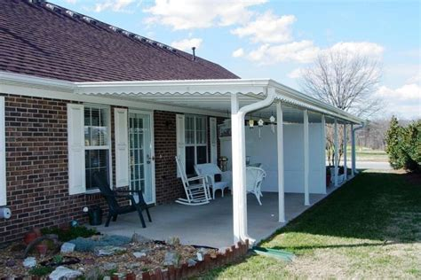 back porch awnings aluminum awnings for residential homes sweet home ideas
