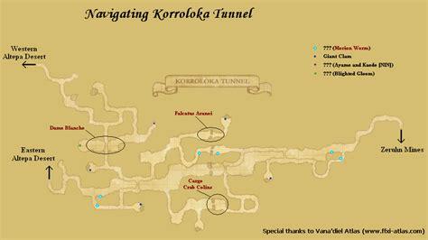 korroloka tunnelmaps ffxiclopedia fandom powered  wikia