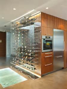Modern Built In Display Cabinet Wine Cellar Custom Design Home Ideas
