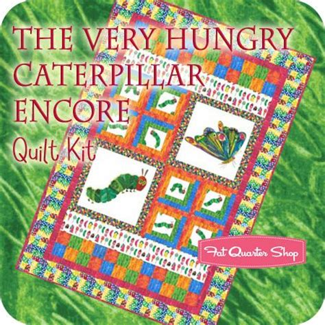 Hungry Caterpillar Quilt Kit by Would To Make This Quilts
