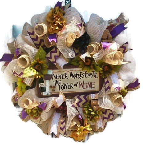 21 best wine theme wreaths images on wine corks wine bottle crafts and wine bottles